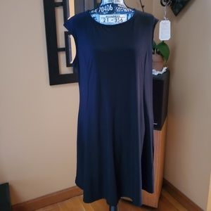ANNALEE + HOPE BLACK TANK DRESS WITH POCKETS!